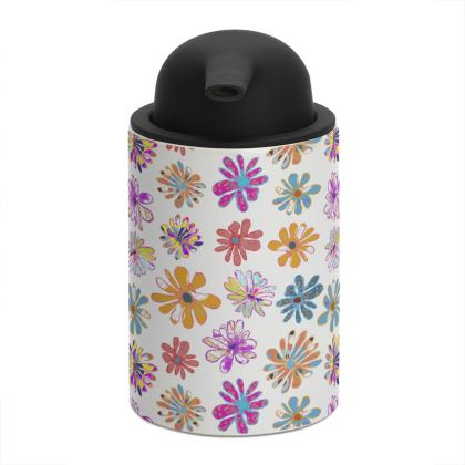Rainbow Daisies Collection Soap Dispenser
