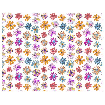 Rainbow Daisies Collection Tray