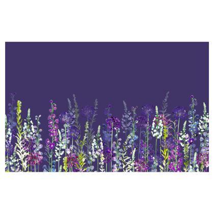 Evening Purple Rapture Zip Top Handbag