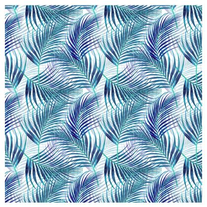 Tropical Garden in blue Collection Espadrilles