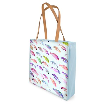 Tropical Fish Collection Beach Bag