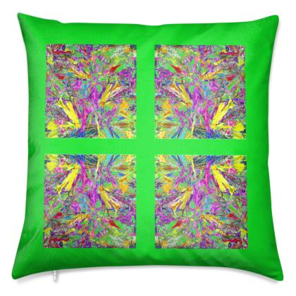 Wings of Paradise - Luxury Cushions - Green