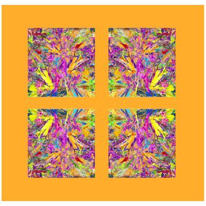 Wings of Paradise - Luxury Cushions - Orange