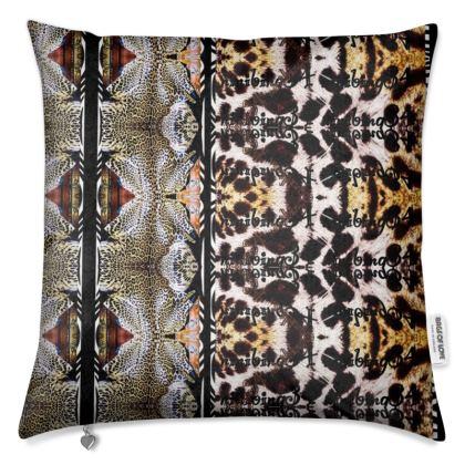 187,- Premium Kissen aus schimmerrndem Samt 50 x 50 cm TIGER