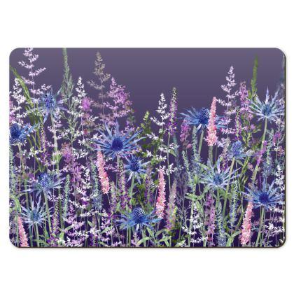Large Placemats - Fairytale Dusky Meadow