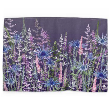 Fairytale Dusky Meadow Tea Towel