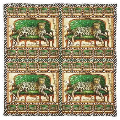 199,- SEIDENTUCH, Silk Scarf ninibing34 DESIGN 115 x 115 cm 100% SEIDE