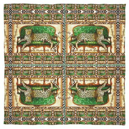 #ninibing34 DESIGN 115 x 115 cm 100% SEIDE