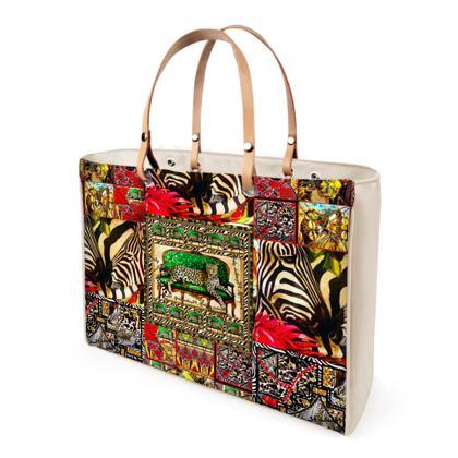 Afrikaans Jaguar ninibing34 DESIGN Shopper Bag