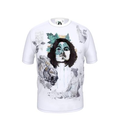'Wabi Sabi' Cut and Sew T Shirt