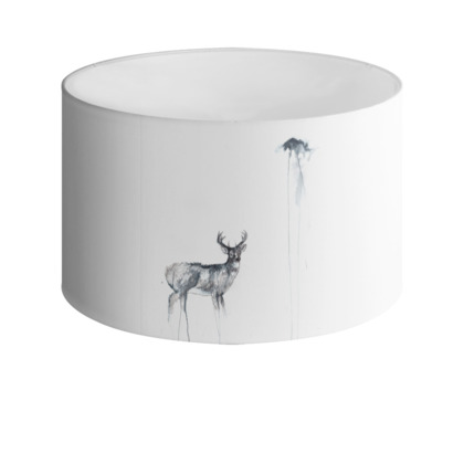 'The Stag' Drum Lamp Shade