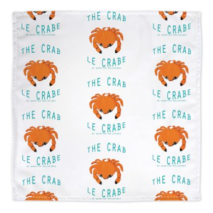 "Bandana ""Le Crabe"""