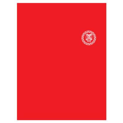 Alesi Apparel Stylish Robes- Red/White/White