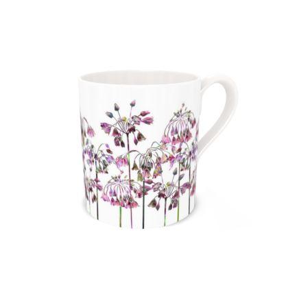 Regular Bone China Mug - Allium Bells