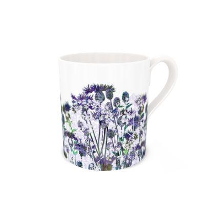 Regular Bone China Mug - Heavenly Hedgerow