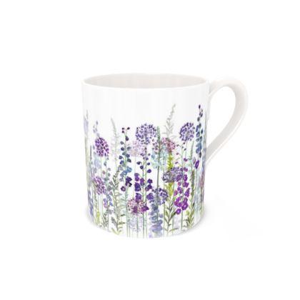 Regular Bone China Mug - Purple Rapture