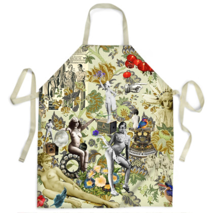 The Muse is Here Apron