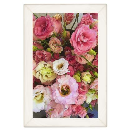 Pink Lisianthus Quilts