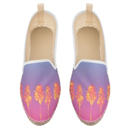 Palm Trees Collection Loafer Espadrilles