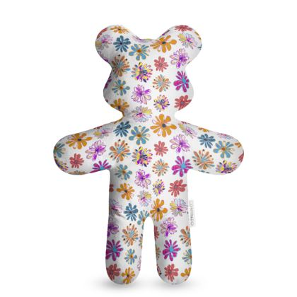 Rainbow Daisies Collection Teddy Bear
