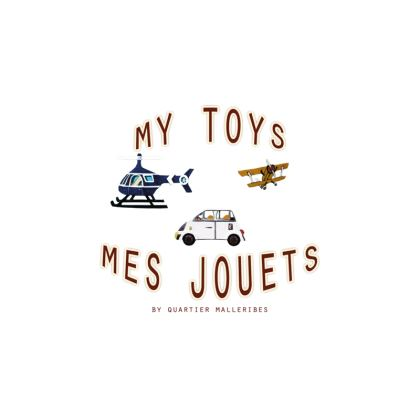 """Fabric Placemats """"Mes Jouets"""""""