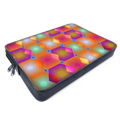 Geometrical Shapes Collection Laptop Bag