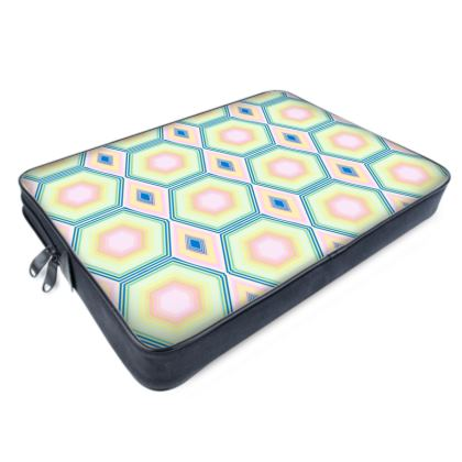 Geometrical Shapes in pastel tones Collection Laptop Bag
