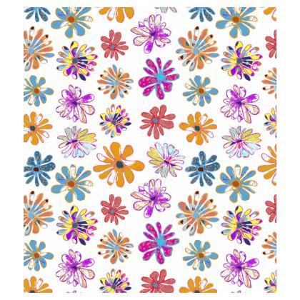 Rainbow Daisies Collection Bucket Hat