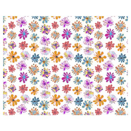 Rainbow Daisies Collection Espadrilles
