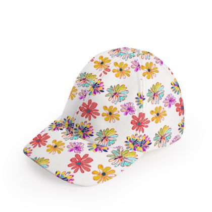 Rainbow Daisies Collection Baseball Cap