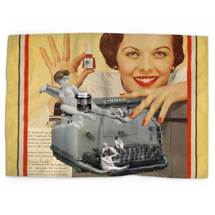 The Typing Pool Tea Towel