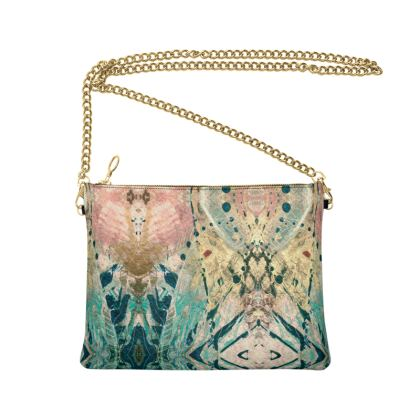 FANTASIA Nappa Leather Bag With Chain by Rachel Rosa ART