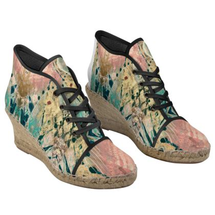 FANTASIA  Wedge Espadrilles by Rachel Rosa ART