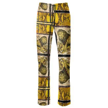 229,- Damen-Pant evening weare, Lounge wears in schillerndem Velours size M