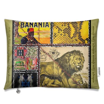 Kissenbezug AFRICAANS unwiderstehlich NEU und Mega dekorativ
