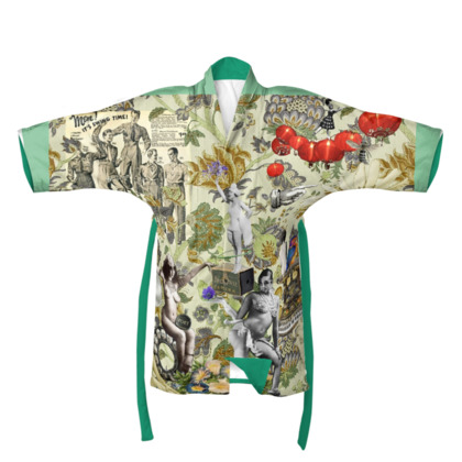 The Muse is Here Kimono