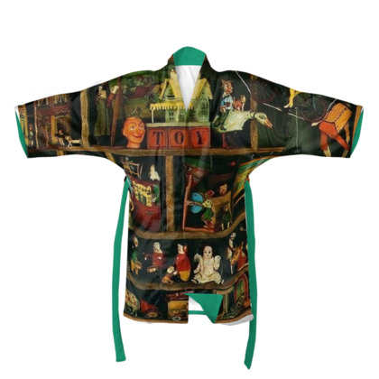 In the Toy Cupboard Kimono