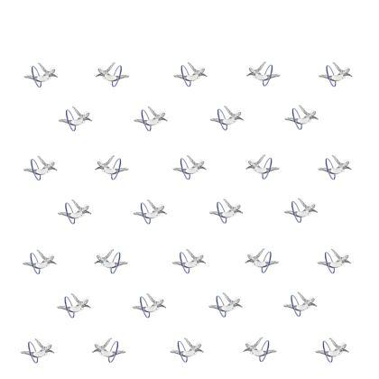 Hoop Diving White Kimono