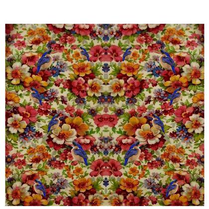 Kingfisher Chintz Kimono