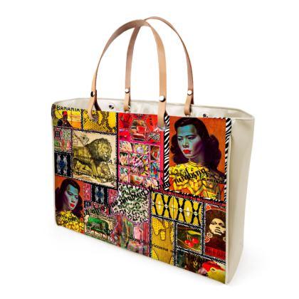 252,- Handtasche  AFRICAANS unwiderstehlich NEU und Mega dekorativ