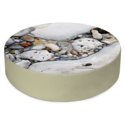 Rock Pool Round Floor Cushion