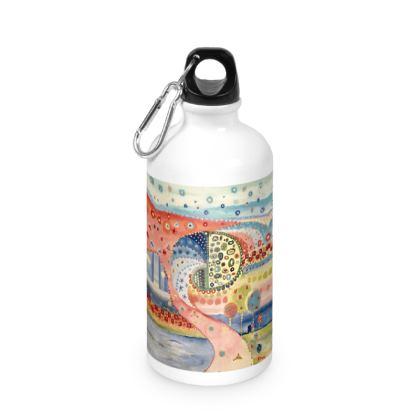MUELLE UNO Water Bottle by Rachel Rosa ART