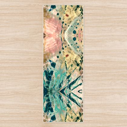 FANTASIA Yoga Mat by Rachel Rosa ART