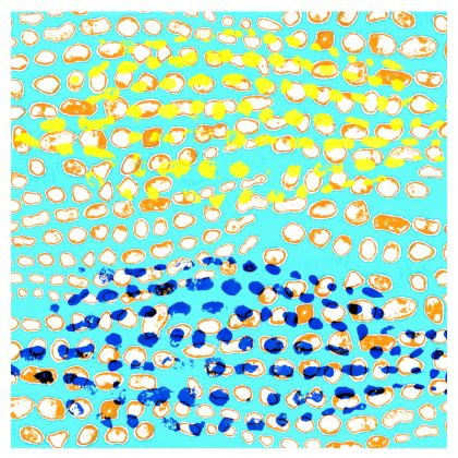 Textural Collection multicolored Espadrilles