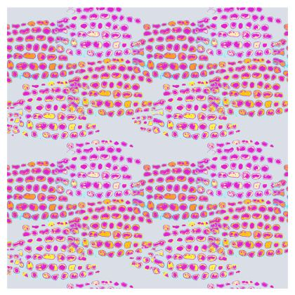 Textural Collection in grey and magenta Espadrilles