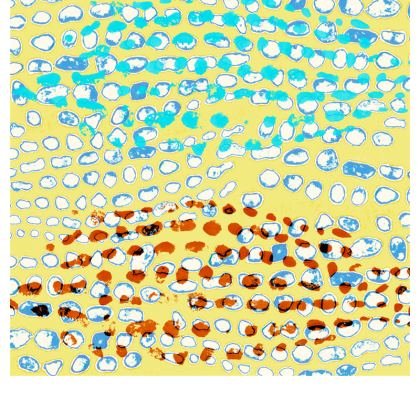 Textural Collection in beige and turquoise Espadrilles