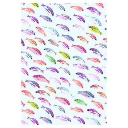 Tropical Fish Collection Double Deckchair