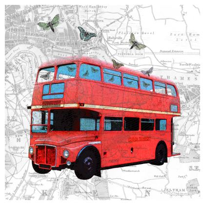 Selection of contemporary and vintage inspired coasters