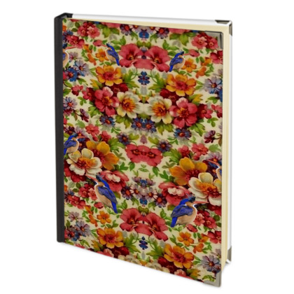 Kingfisher Chintz Address Book