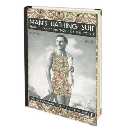 Man's Bathing Suit Address Book